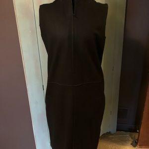 Black wool lined dress/jumper